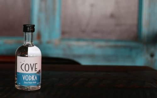 Cove Vodka 5cl at The Cove, Hope Cove