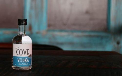 Cove Vodka 5cl at The Cove, Hope Cove
