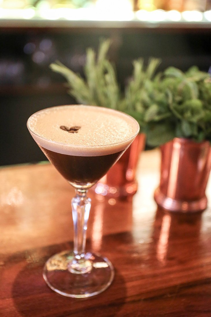 Espresso Martini Cove Vodka Cocktail