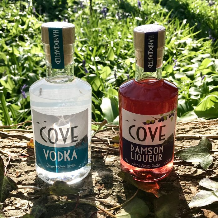 Devon Potato Vodka and Damson Liqueur