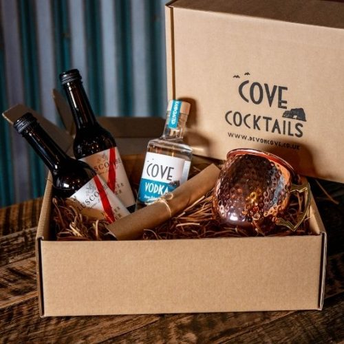 Moscow Mule Cocktail Kit with copper mug