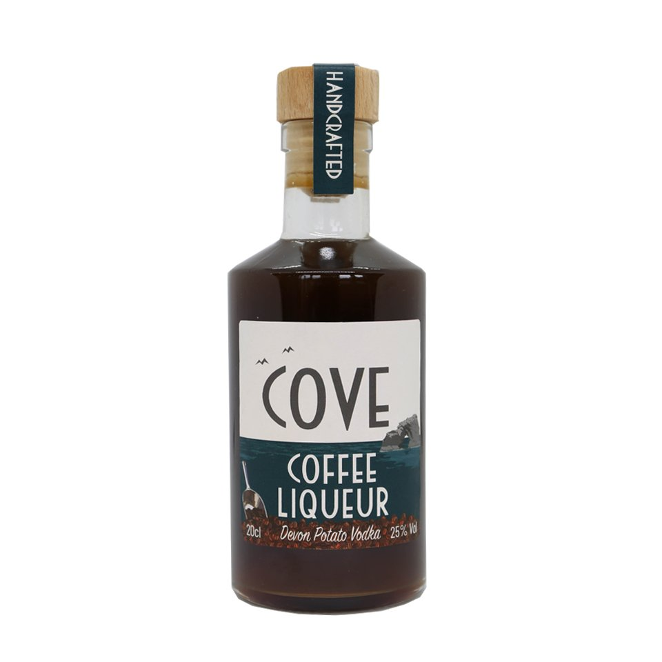 Gift size coffee liqueur